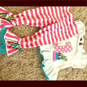 Mud pie 12-18 month 1st bday outfit